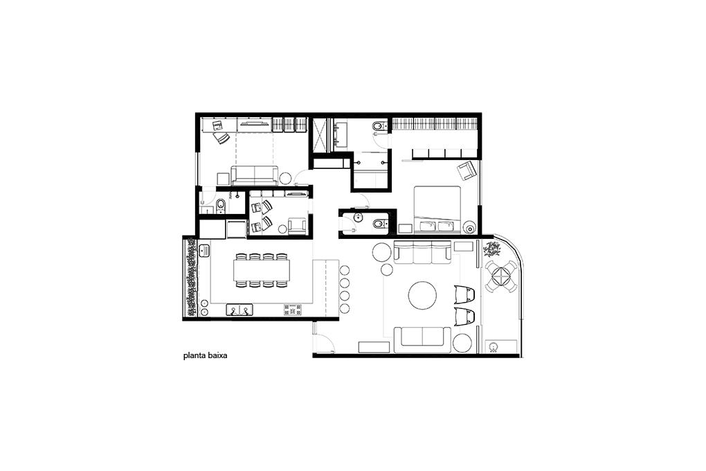 Projeto Apartamento 112N