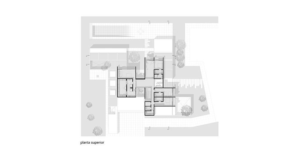 Planta Casa das Praças