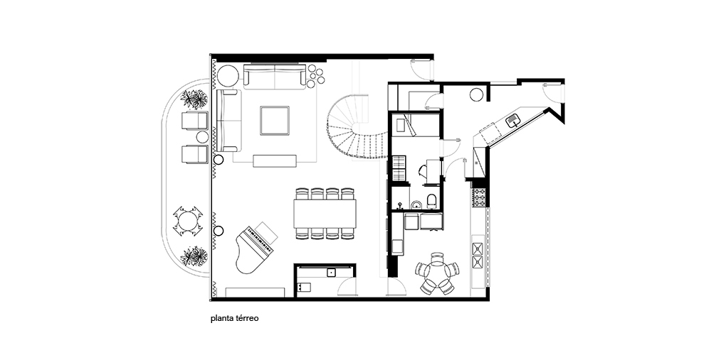Planta Apartamento116s