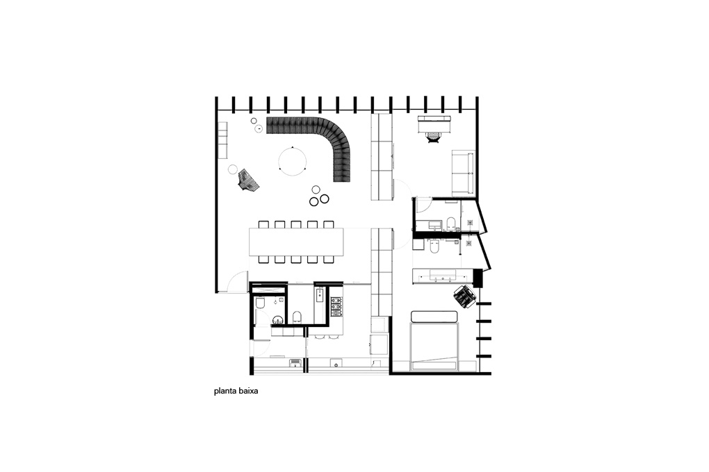 Planta Apartamento Valadares