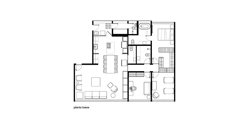 Planta Apartamento 202S