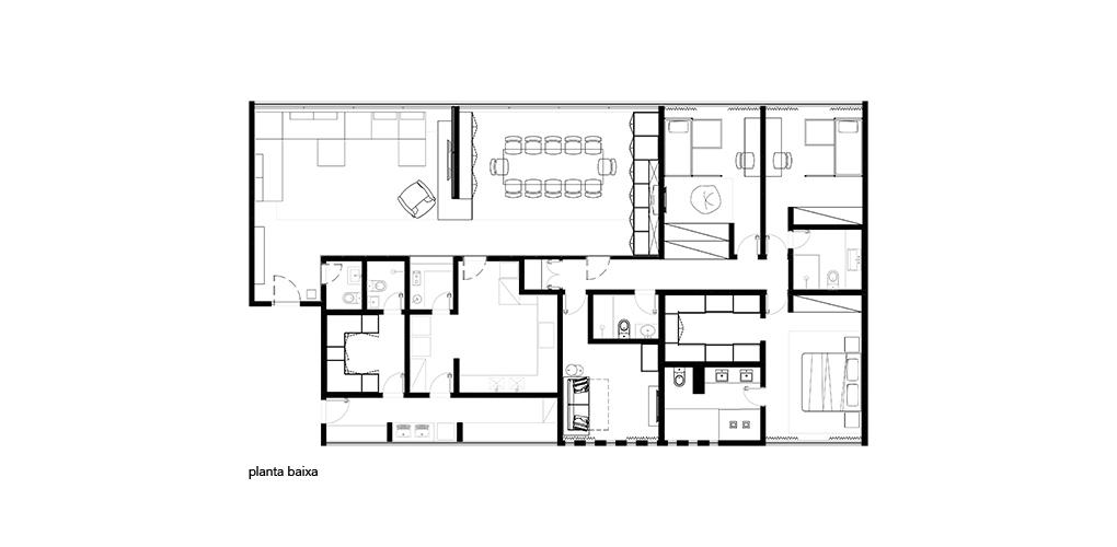 Planta Apartamento 203S