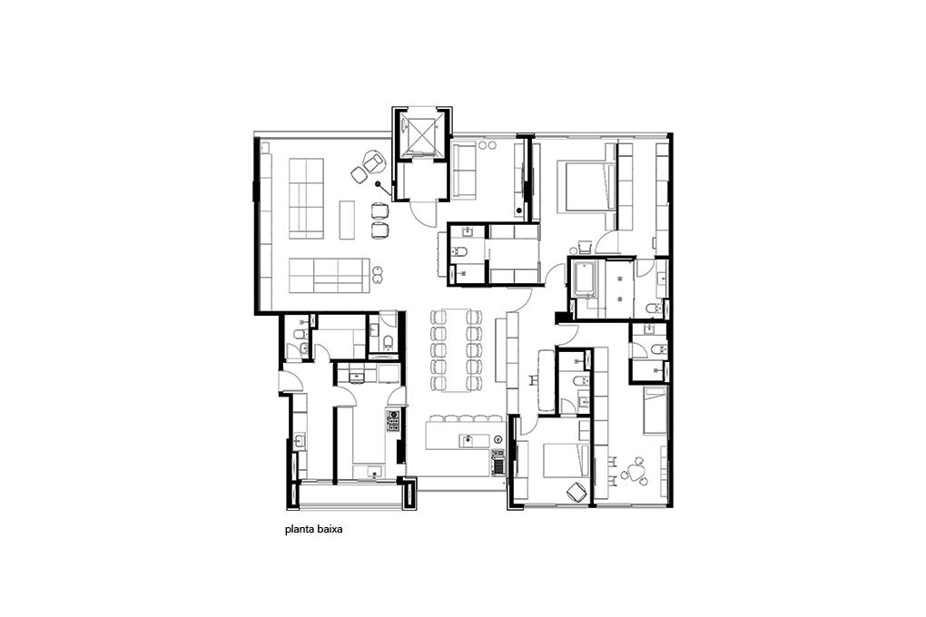 Planta Apartamento 304NW