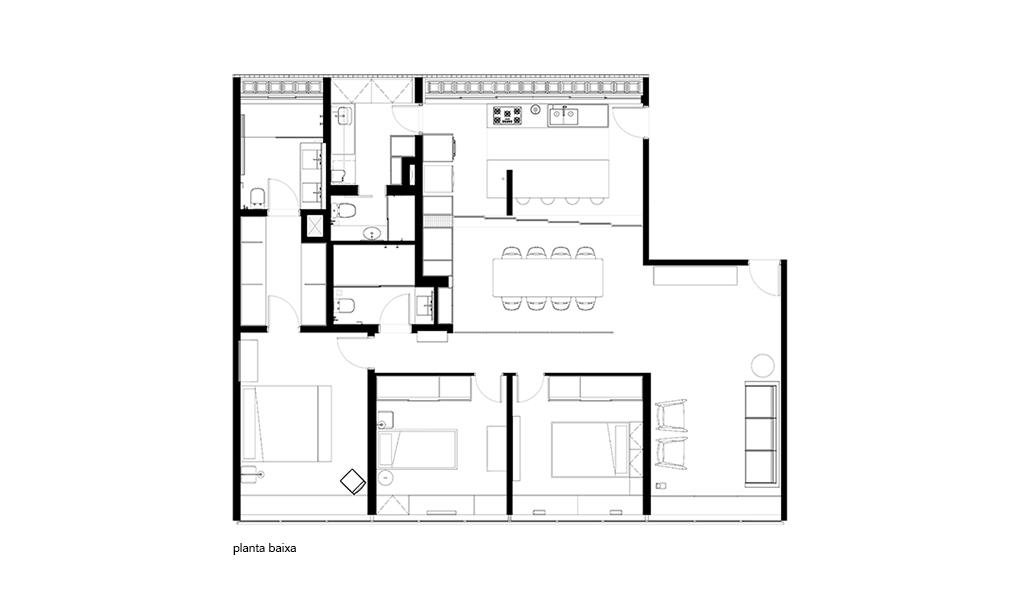 Planta Apartamento 308